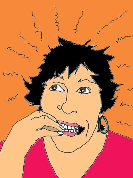 Self portrait as a Nervous Artist.